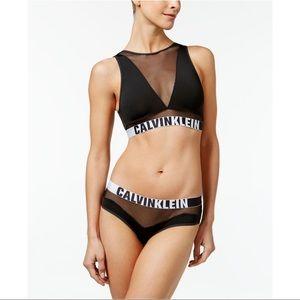 Calvin Klein Intimates & Sleepwear - Calvin Klein | Black & White Unlined Bralette M